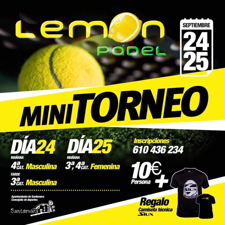 Torneo de Pádel en Lemon Pádel Santomera